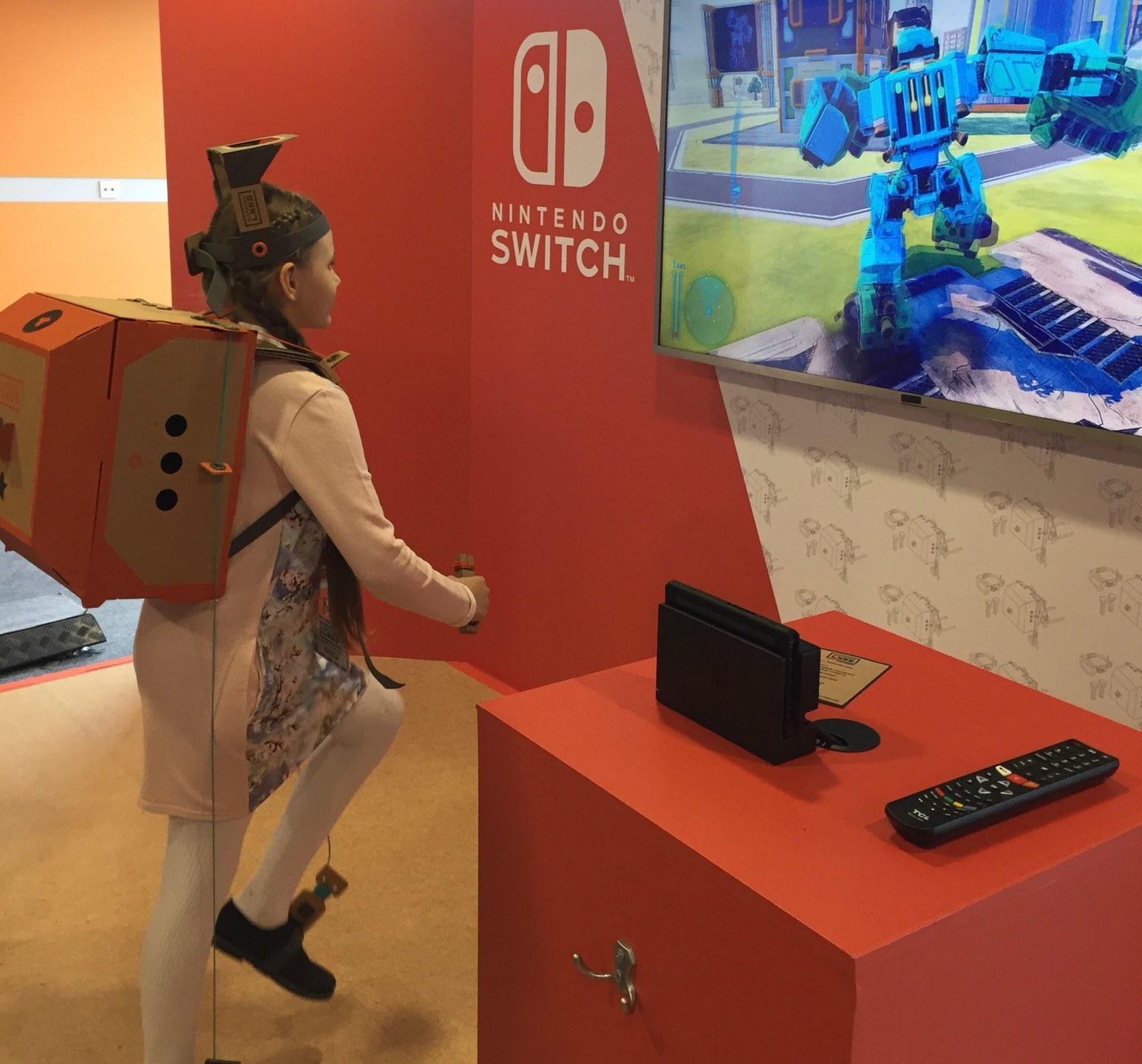 Nintendo Labo «Робот»
