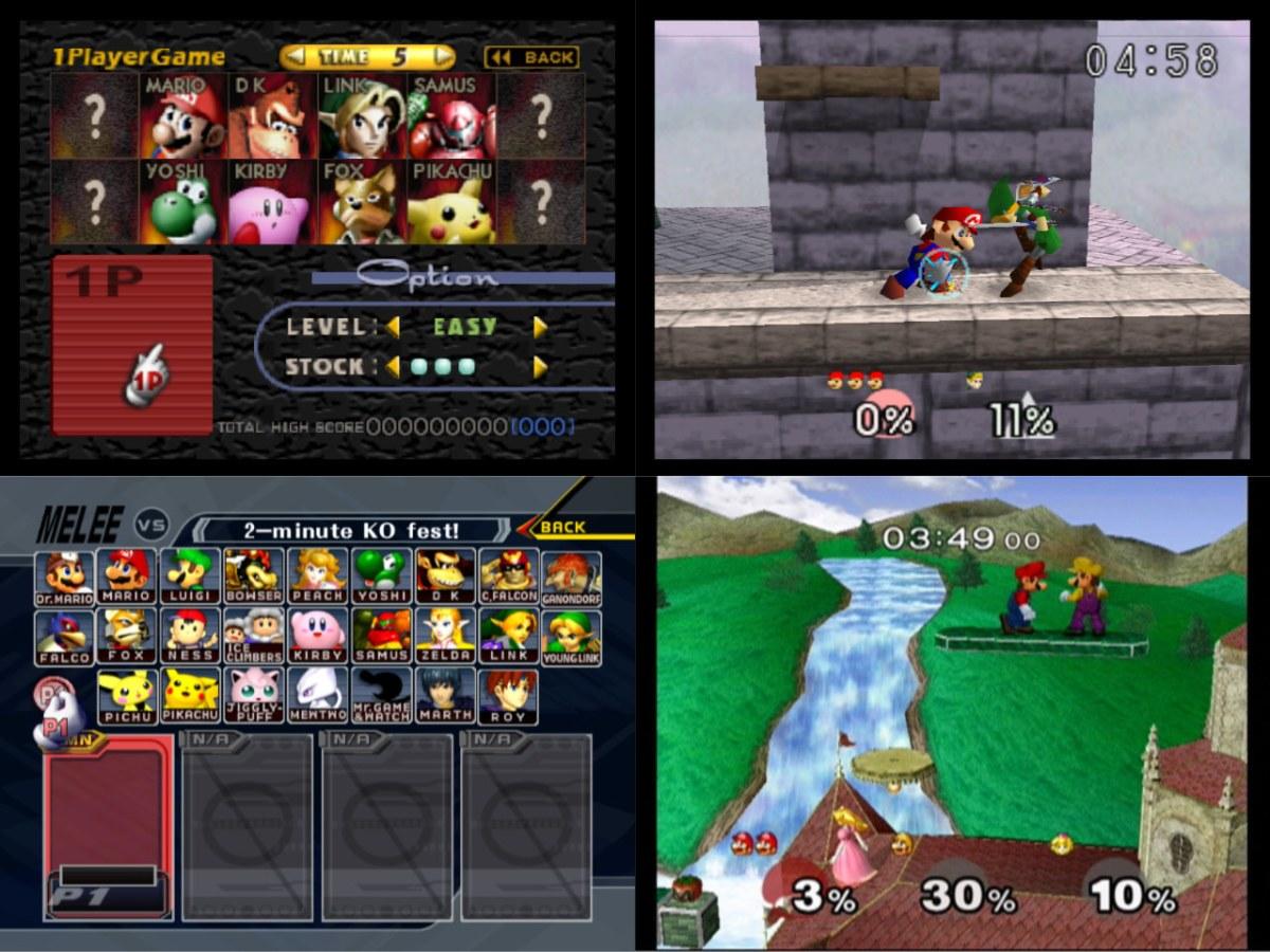 Super Smash Bros. и Super Smash Bros. Melee